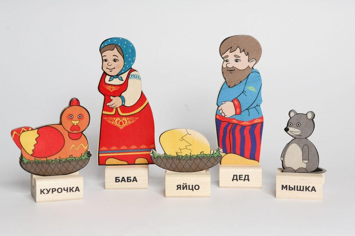 Набор   «Сказки - Глобал»«Курочка Ряба», «Репка» (Набор №9)
